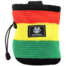 Evolv Knit Chalk Bag, rasta